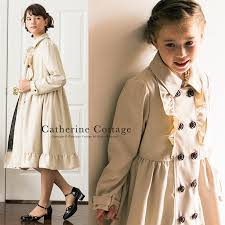 kids clothes girls ruffled trench coat kids clothes girls formal clothing winter wear 120 130