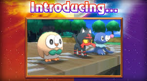 Image result for pokemon sun and moon