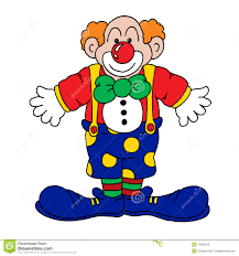 Clown Illustration Stock Illustration Du Bleu Cartoon 10302870
