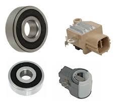 Alternator Rebuilt Kit; Voltage Regulator, Bearings, Brushes for ...