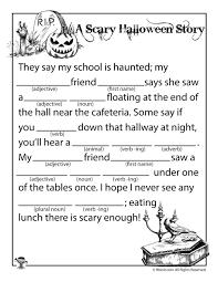 a scary halloween story mad lib woo jr kids activities
