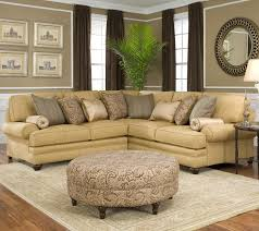 Traditional Sectional Sofas Living Room Furniture Traditional Styled Corner Sectional Sofa By Smith Brothers Wolf