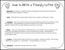 how to write a friendly letter printables primary theme park how to write a friendly letter printables