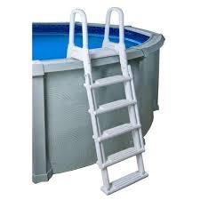 blue wave a frame flip up pool ladder
