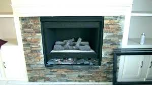 installing stone veneer fireplace alluring can