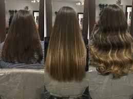 Cachet Hair Design La Weave Using Remi Cachet Super Weft To Add Length Volume