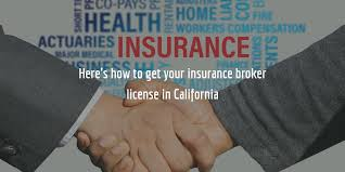 Car insurance is a legal requirement in california. Your Guide To Getting A California Insurance Broker License
