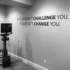classroom decor ideas gym wall decal