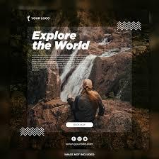 travel banner adventure tours insram