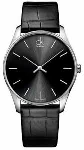 calvin klein watches official uk retailer first class watches calvin klein mens classic black watch k4d211c1