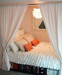 Bedroom, What Is A Bed With Curtains Around It Called ~ How to Hang Curtains
