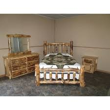 aspen king size bed set