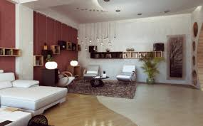 inside lighting. Modern Elegant Interior Design Of The Bedroom With White And Brown Grnaite Floor Can Add Beauty Inside Warm Lighting