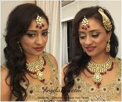 south asian wedding mariott marina del rey indian bride sheila makeup and hair by angela tam