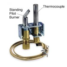 pilot light and thermocouple assembly