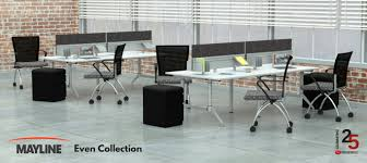 Open concept office space Office Workspace Office Benching Workstations Or Open Concept Office Furniture Has Become Hot Trend In Office Space Design If You Are Considering This Concept For Your Pvi Office Furniture Benefits Of Open Benching Workstations New Office Furniture Dc Md Va