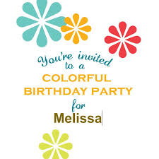 Party Template 17 Free Printable Birthday Invitations