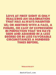 famous quotes about love at first sight for  love at