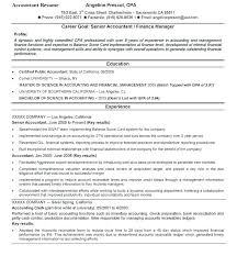 Resumes Accounting Resume Summary Of Qualifications Examples Top