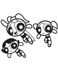 Small Picture The powerpuff girls coloring pages to print ColoringStar