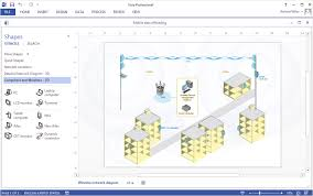 Venn Diagram Visio 2013 Create A Visio Wireless Network Diagram Conceptdraw Helpdesk