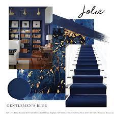 Mood Board Inspired By Jolie Paint In Gentlemens Blue Top