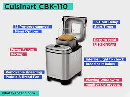 Secure the bread pan into the cuisinart® bread maker. Cuisinart Bread Machines Reviews And Comparing Cbk 100 Vs 110 Vs 200 Which Is The Best Updated June 2021