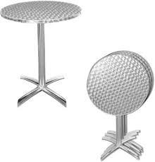 metal folding patio table