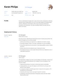 Ui Designer Resume Template 12 Ux Designer Resume Sample S Resumeviking Com 2019