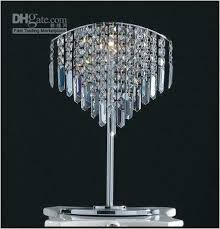 crystal chandelier table lamp gorgeous with lamps plan 9