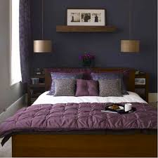 dark blue paint colors for bedrooms. Fresh Full Of Colors Small Bedroom Decoration Ideas : Purple Bed Cover Classic Pendant Lamp Dark Blue Paint For Bedrooms