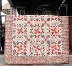 Red Velvet dream quilt kit from Hollyhill Quilt Shoppe. Uses Moda ... & Red Velvet dream quilt kit from Hollyhill Quilt Shoppe. Uses Moda Papillon  collection and border Adamdwight.com
