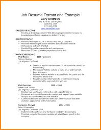 6 How To Write A Basic Resume For Job Mystock Clerk Format Sample