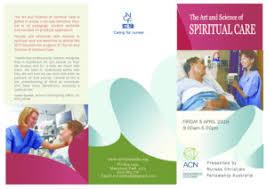 Spiritual Care 2019 Brochure F Nurses Christian Fellowship