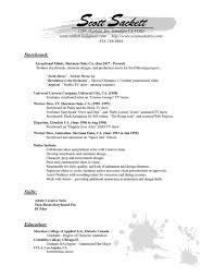 Gmail Resume Custom Resume SCOTT SACKETT