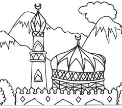 Muslim Coloring Pages Muslim Coloring Pages Ring Pages Printable For