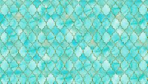 Quatrefoil Pattern Mesmerizing Luxury Aqua Teal And Gold Oriental Quatrefoil Pattern Pillow Sham By