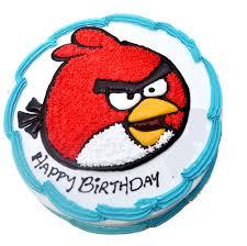 1 Kg Angry Bird Cake – J K Florist