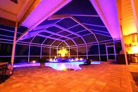 pool enclosure lighting arc pool enclosure diy