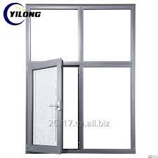 broken bridge aluminum top hung casement window