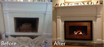 furniture attractive coverting a wood burning fireplace into gas unit with convert wood burning fireplace