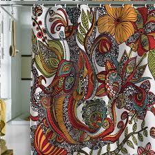 artistic shower curtains. Plain Shower Paradise Bird Shower Curtain  Fab On Artistic Curtains