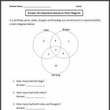 2 circle venn diagram problems venn diagram logic problems worksheets manual e books