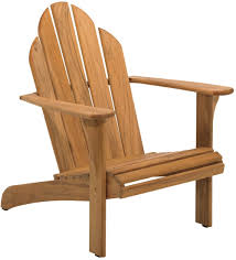 Furniture Pretty Teak Adirondack Chair 802 By Gloster Furniture