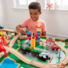 kidkraft ride around town piece train table and set instructions kidkraft reviews accessories b cb