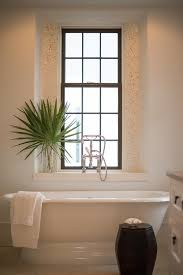 mosaic tiles around window nook
