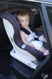britax max fix rear facing car seat installed