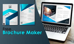Online Flyer Maker For Free Free Brochure Maker Create Your Online Brochure In 2 Minutes
