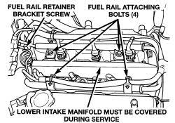 repair guides multi port fuel injection (mfi) system fuel rail injector wiring harness 6.0 diesel at 2005 Dodge Grand Caravan Fuel Injector Wiring Harness