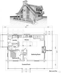 image of captivating log cabin loft house plans also kitchen island with storage and breakfast bar cabin floor plan plans loft